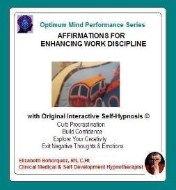 work motivating with self-hypnosis