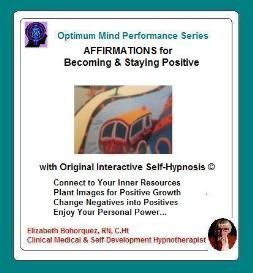becoming & staying positive with self-hypnosis