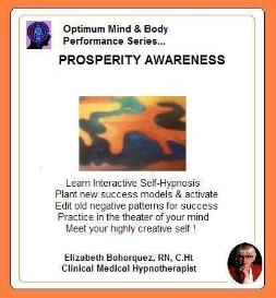 prosperity awareness with self-hypnosis