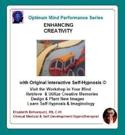 enhancing creativity with self-hypnosis