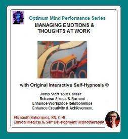 managing thoughts & emotions at work with self-hypnosis