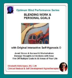 blending work goals with personal goals with self-hypnosis