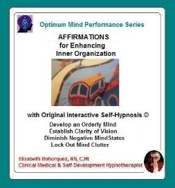 affirmations - inner organization