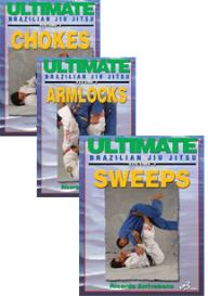 ultimate brazilian jiu jitsu vol-1, 2 & 3