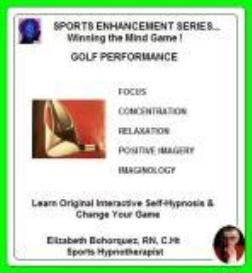 sports hypnosis - adult golf performance
