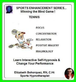 sports hypnosis - adult tennis performance
