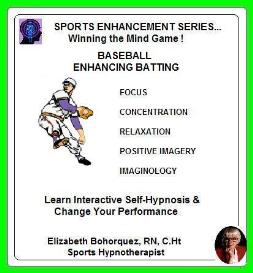 sports hypnosis - adult baseball batting