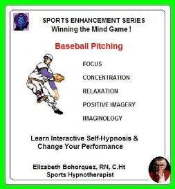 sports hypnosis - adult baseball pitching