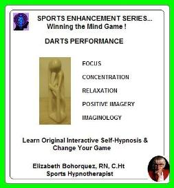 sports hypnosis - adult darts performance
