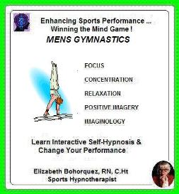 sports hypnosis - men's gymnastics performance
