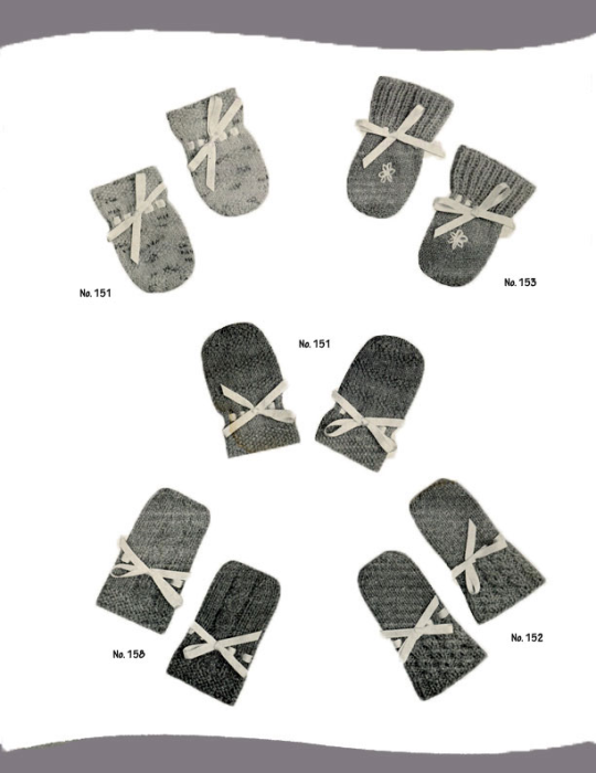 First Additional product image for - 2 Needle Mittens | Volume 101 | Doreen Knitting Books DIGITALLY RESTORED PDF