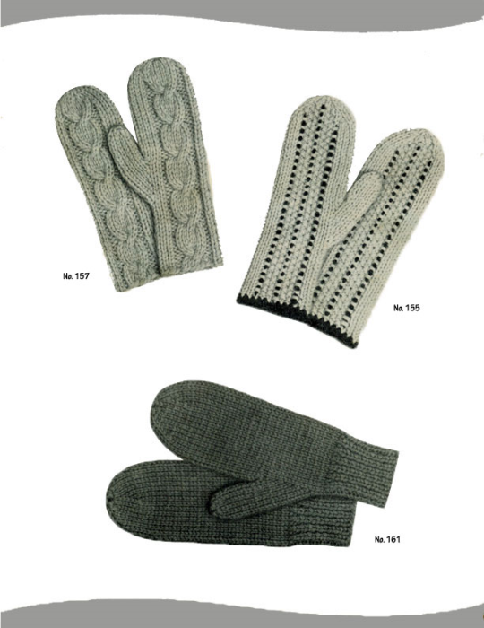 Second Additional product image for - 2 Needle Mittens | Volume 101 | Doreen Knitting Books DIGITALLY RESTORED PDF