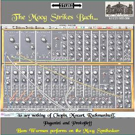 the moog strikes bach - hans wurman