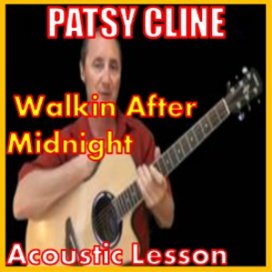 learn to play walking after midnight by patsy cline