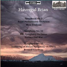 brian: symphonies nos. 9/12/23