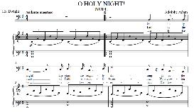 o holy night, low voice in g major (bass) english modern version. a. adam, j.s. dwight. digital score. a4 (portrait)