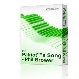 patriot's song - phil brower orchestration only