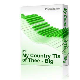 my country tis of thee - big band 333 instrumental feature