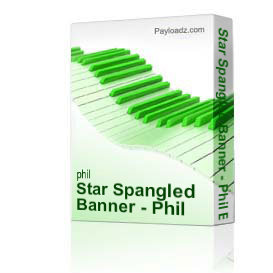 star spangled banner - phil brower satb