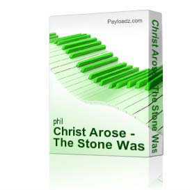 christ arose - the stone was rolled away medley from the fourth cross by derric johnson