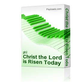 christ the lord is risen today from the fourth cross by derric johnson