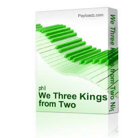 we three kings from two nights before christmas by phil and lynne brower