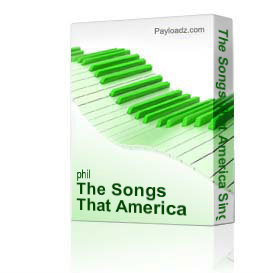 the songs that america sings by derric johnson's re'generation vocal orchestra