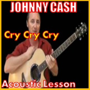 learn to play cry cry cry by johnny cash