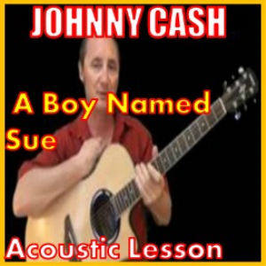 learn to play a boy named sue by johnny cash