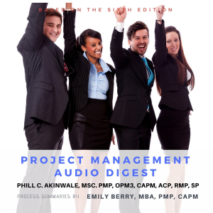 18 hour project management audio digest mp3 curriculum & 4 hour mock exam (based on fifth edition)