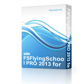 fsflyingschool pro 2013 for fsx/fs2004 25% off download