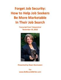 forget job security transcript and recording
