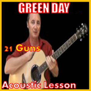 learn to play 21 guns by green day