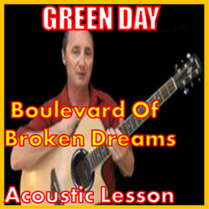 learn to play boulevard of broken dreams by green day