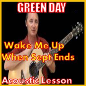 learn to play wake me up when sept ends by green day