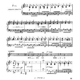 ah mio cor, schernito sei; low voice in g minor, g.f.haendel. for contralto, bass. from: arie antiche (parisotti) -1-ricordi (1885)