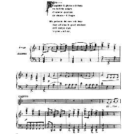 all'acquisto di gloria, high voice in f major, a.scarlatti. for soprano, tenor. from: arie antiche (parisotti) -2-ricordi (1889)