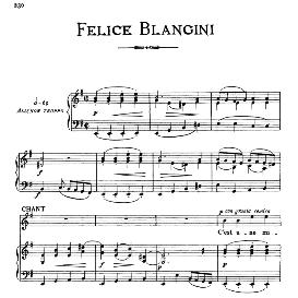 c'est une misère que nos jeunes gens, medium-low voice in e minor, f.blangini. for mezzo, baritone. from: arie antiche (parisotti) -3-ricordi (1889)