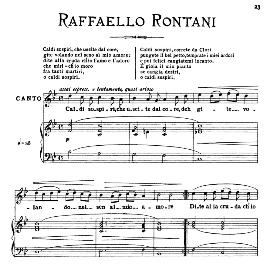 caldi sospiri, medium voice in g minor, r.rontani. for mezzo, baritone. from: arie antiche (parisotti) -3-ricordi (1889)
