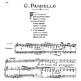 chi vuol la zingarella, medium voice in f major, g. paisiello. for mezzo, baritone. from: arie antiche (parisotti) -1-ricordi (1885)