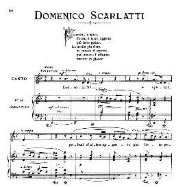consolati e spera!, medium-low voice in g minor, a.scarlatti. for mezzo, baritone. from: arie antiche (parisotti) -1-ricordi (1885)