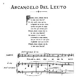 dimmi, amor, medium voice in f major, a.del leuto. for mezzo, baritone. from: arie antiche (parisotti) -2-ricordi (1889)