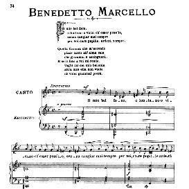 il mio bel foco (quella fiamma), medium voice in g minor, b.marcello. for mezzo, baritone. from: arie antiche (parisotti) -1-ricordi (1885)