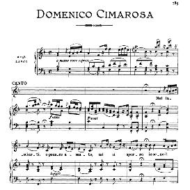 Nel lasciarti,o prence amato, High Voice in F Major, D.Cimarosa. For Soprano, Coloratura Mezzo. From: Arie Antiche (Parisotti) -3-Ricordi (1898) | eBooks | Sheet Music