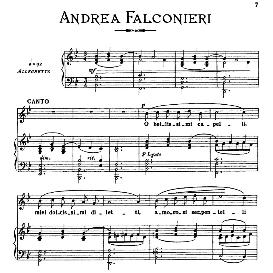 o bellisimi capelli, medium voice in g minor, a.falconieri. for dramatic soprano, mezzo, baritone. from: arie antiche (parisotti) -3-ricordi (1898)
