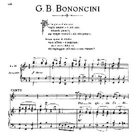 per la gloria d'adorarvi, medium voice in f major, g.m.bononcini. for mezzo, baritone, soprano, tenor. from: arie antiche (parisotti) -2-ricordi (1889)