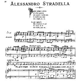 Ragion sempre addita, High Voice in A Major, A.Stradella. For Soprano, Tenor. From: Arie Antiche (Parisotti) -2-Ricordi (1889) | eBooks | Sheet Music