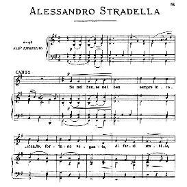 Se nel ben sempre incostante, High Voice in G Major, A.Stradella, Ed. Ricordi | eBooks | Sheet Music