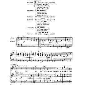 su,venite a consiglio, medium-high voice in g major, a.scarlatti, ed. ricordi