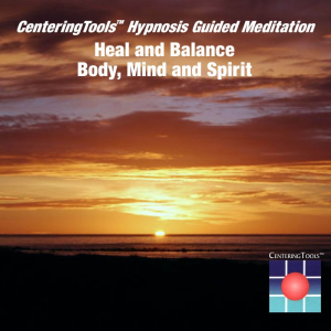 heal and balance body, mind and spirit
